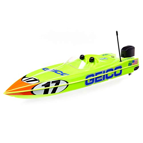 """Pro Boat Miss Geico 17"""" Power Boat Racer Deep-V RTR, PRB08044T1"""
