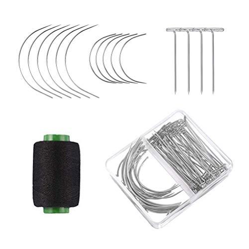 Juego de agujas de coser y hilo de Lurrose, 70 piezas Juego...