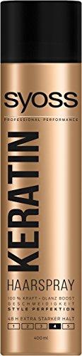 Syoss Haarspray Keratin Haltegrad 4, extra stark, 6er Pack (6 x 400 ml)