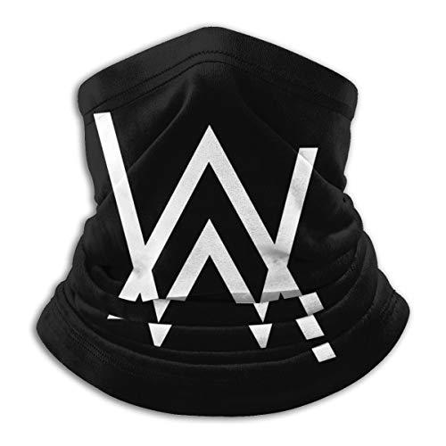 Alan Walker - Polainas para el cuello, cortavientos, máscara para la boca, pañuelo para la cabeza, bufanda para hombres y mujeres -  Amarillo -  talla única