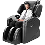 OOTORI 2020 New Massage Chair, Full Body Zero Gravity Shiatsu Recliner Massage Chairs with 16 Air Bags & 4 Foot Rollers (Black)
