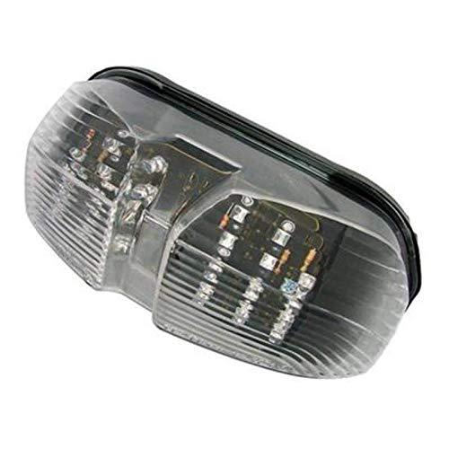 Bihr Destockage Feu Arriere Moto A LED avec Clignotants Integres Compatible Yamaha Fz1 Fazer 06-15 / Fz8 Fazer 10-15
