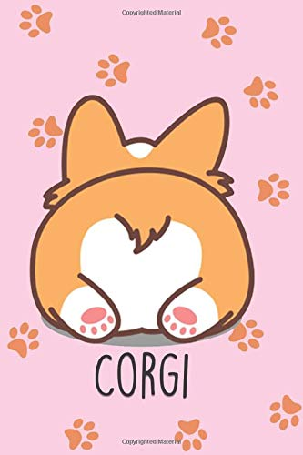 Corgi Gifts: 110 Lined Notebook & Journal to Write In for Notes, To Do Lists, Notepad, Funny Gifts for Corgi Dogs Lovers, Best Friends, Lover, Girlfriend, Daughter, Sister