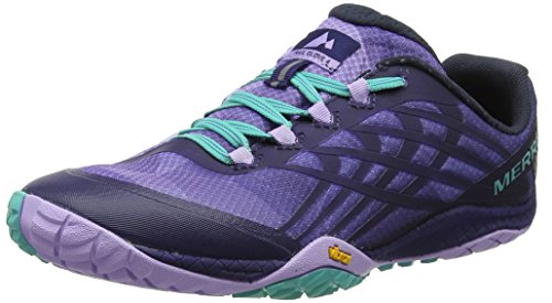 Merrell Women's Glove 4 Trail Runner, Very Grape/Astral Aura, 9.5 M US