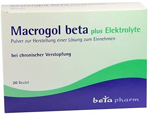 MACROGOL beta plus Elektrolyte Plv.z.H.e.L.z.Einn. 20 St