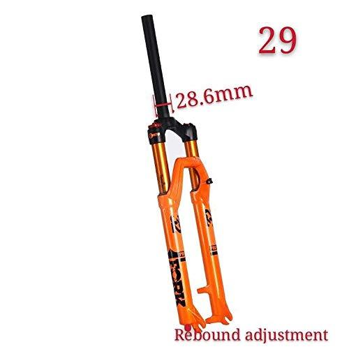 LIRUI MTB Fahrrad Gabel Magnesium Legierung Luftfederung 27 5 29er Zoll Gerade Steckachse 9X 100 Mm QR Schnellverschluss Fahrrad Gabel Lockout,D