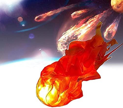 Accesorios mgicos flotantes para adultos,Bola de fuego flotante magia,Visualizacin creativa decoracin llama,Decoracin creativa de llama roja