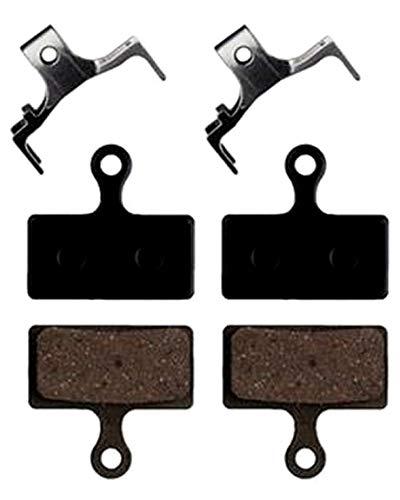 2 pares Pastillas de freno de disco hidráulicas de bicicleta de montaña PARA Shimano Deore M988 M985 XT / TR M785 / SLX M666 M675 / Deore M615 / Alfine S700 Pastillas de freno Almohadillas de disco