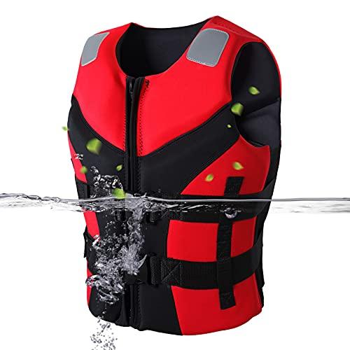 Chalecos Salvavidas Chaleco Chaleco de Ayuda Kayak Esquí Pesca Navegación Deporte acuático Chaqueta de navegación para Adultos Natación al Aire Libre