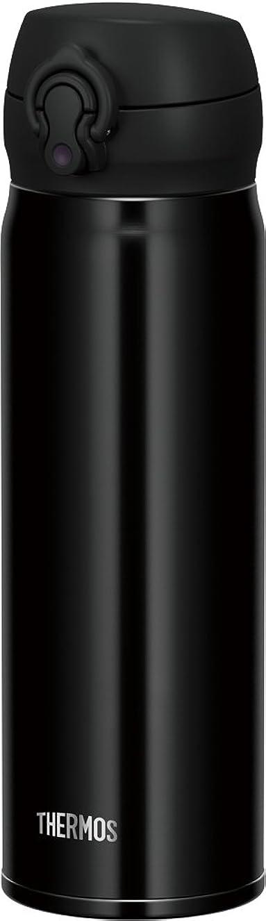 蘇生する表向き反響するサーモス 水筒 真空断熱ケータイマグ 【ワンタッチオープンタイプ】 0.5L ジェットブラック JNL-503 JTB