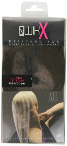 American Dream - AH/A1/QX/16/4B - Qwik X - 100 % Cheveux Naturel - Indien Remi Extensions - Couleur 4B - Tabac - 41 cm