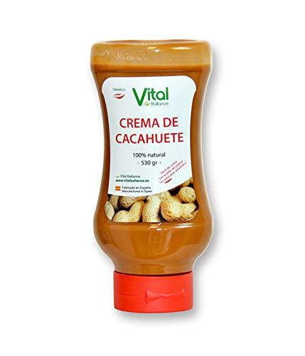 Vital Ballance Crema De Cacahuete 530Gr. 630 g