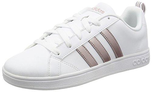 adidas Vs Advantage W, Zapatilla de Deporte Mujer, Blanco (Ftwbla/grmeva/griper), 36 EU (3.5 UK)
