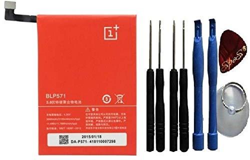 OnePlus One BLP571 - Batería de Repuesto para Oneplus One 1+ A0001 (3100 mAh/Herramienta)