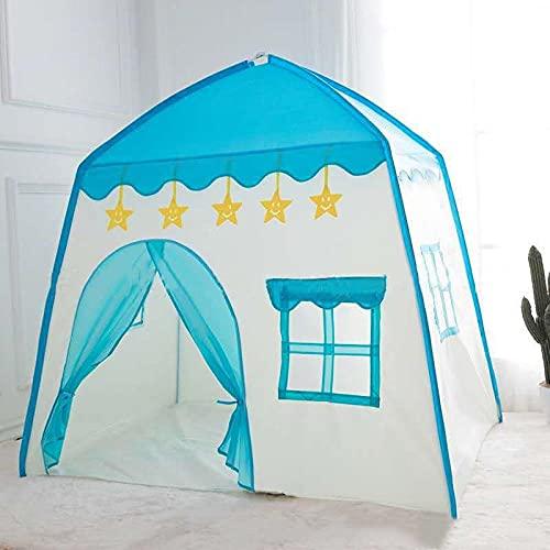 Zerrale Tipi Infantil Juego Tienda Niños Juguete de Casa de Juegos Carpa Bebes Castillo Plegable Portátil para Interiores para Niños Niñas Regalo para Chicas y Chicos-2