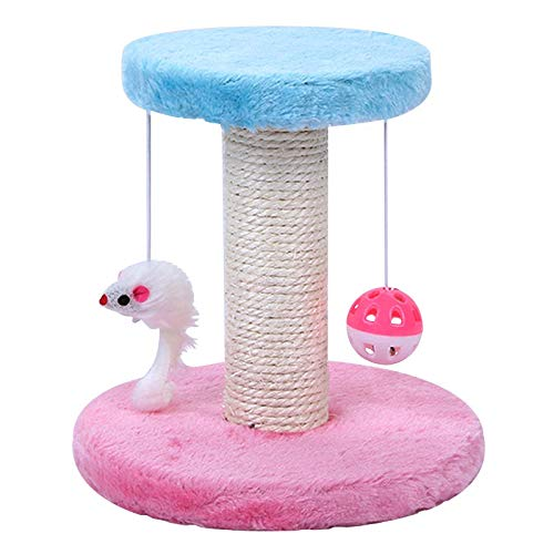 GJK Pets Offers Our New 20cm Kitten and Cat Scratching Tree Post for All Animal Lovers