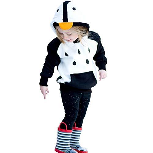 Julhold Baby Peuter Baby Jongens Meisjes Mode Leuke Cartoon Hooded Sweatshirt Jas Katoen Slim Tops Outfits 1-5 Jaar