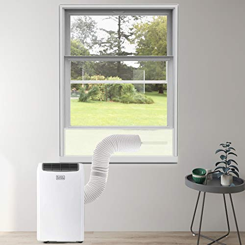 YKB Portable Ac Window Kit - Air Conditioner Window Seal for Hung Window and Sliding Window - Suitable for Exhaust Hoses...