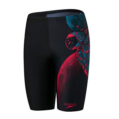 Speedo Estampado de piernas para nio de secado rpido para nadar/nadadores
