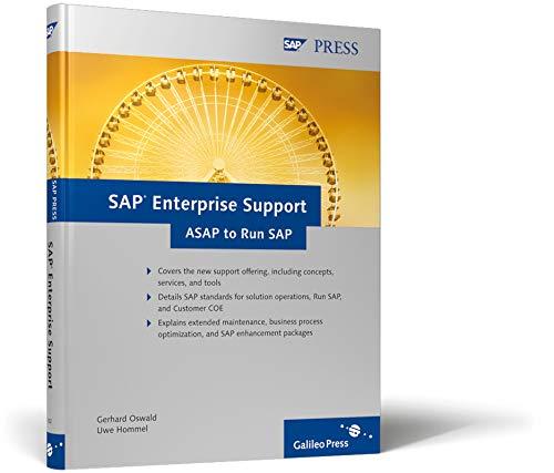 SAP Enterprise Support: ASAP to Run SAP (SAP PRESS: englisch)