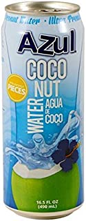 Azul Coconut Water, Naturally Hydrating Electrolyte Drink | Smart Alternative To Coffee, Soda, & Sports Drinks | Gluten Fr...