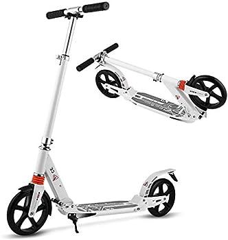 Aceshin Height Adjustable 200mm Big Wheels Kick Scooter