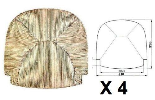 Sedute impagliate (mod.G2000) Ricambi per sedie [Set di 4]