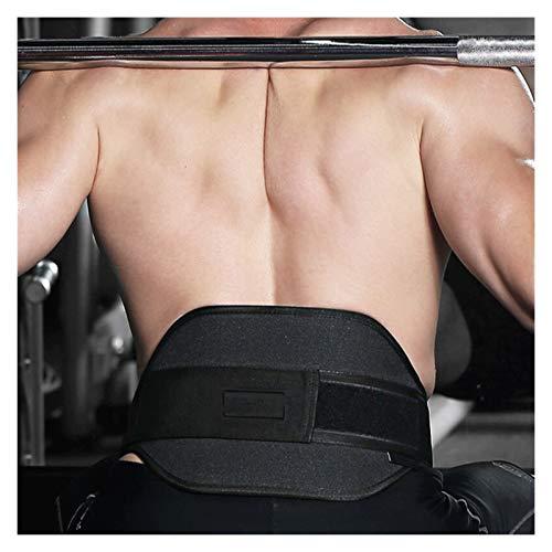 ZWDM Cinturón Lumbar Fitness Levantamiento de Pesas Cinturón de la Cintura Barrilla Barbell Dumbbel Entrenamiento Trasero Lumbar Brace Gym Power Lifting Sport Belt Protector Unisex Soporte Lumbar