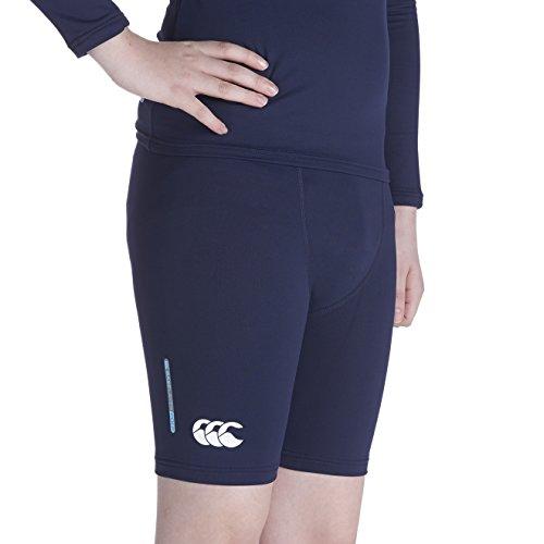 Canterbury Kids Baselayer Cold Shorts - Junior, Navy- Large