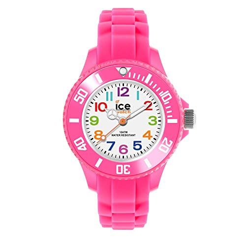 Ice-Watch - ICE mini Pink - Girl's wristwatch with silicon strap - 000747 (Extra small)