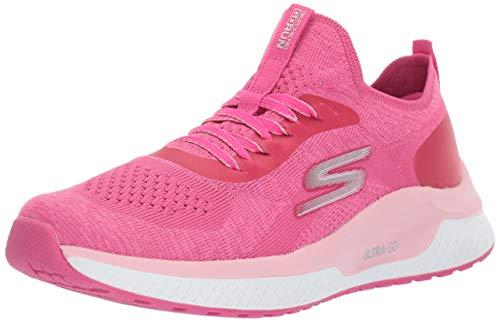Skechers GO Run Steady Sneaker, Hot Pink, 5 M US