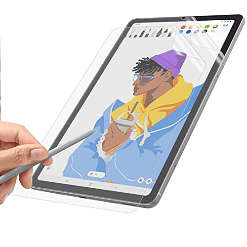 WEOFUN [2 unidades] Protector de pantalla compatible con Samsung Galaxy Tab S6 Lite, [resistente a los arañazos] [Textura mate] [escritura a mano suave]
