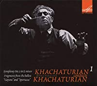 """Khachaturian Conducts Khachaturian Vol.1: Symphony No.2 """"The Bell"""", etc"""