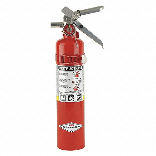 Amerex 417T, 2.5lb ABC Dry Chemical Class A B C Fire Extinguisher