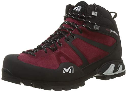 Millet Super Trident GTX W, Zapato para Caminar Mujer, Rojo Tibetano, 41 1/3 EU