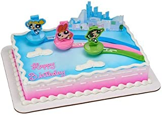 A1 Bakery Supplies Powerpuff Girls The Day is Saved Cake Decorating Set