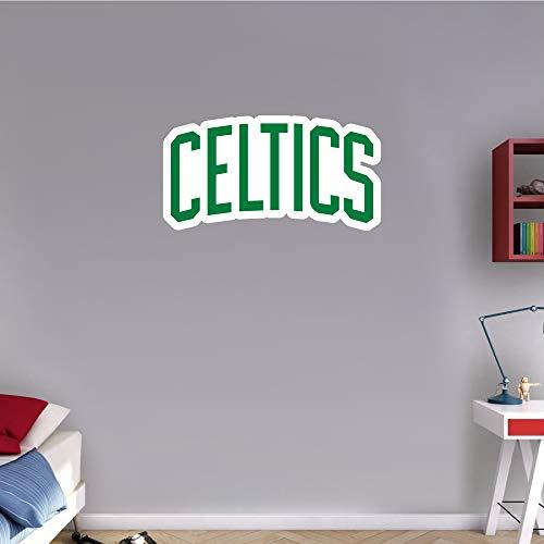 skyhighprint - Boston Celtics NBA Basketball Sport Logo Wall Decor Vinyl Print Sticker 25'' X 13''