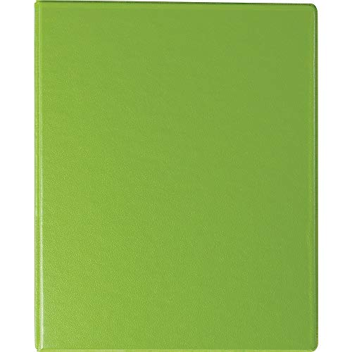 Staples 110155 Standard 1-Inch Round Ring Mini View Binder Chartreuse (26323)