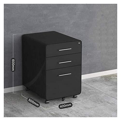Schreibtischlampe Roll Vertical File Cabinet Mobile File Management-Speicherschrank mit Verschluss Vertikale Multi-Schublade Montage Schubladenschrank Speicherdatei-Rack