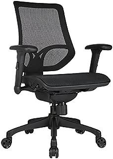 WORKPRO Mid-Back Mesh Task Chair, Black