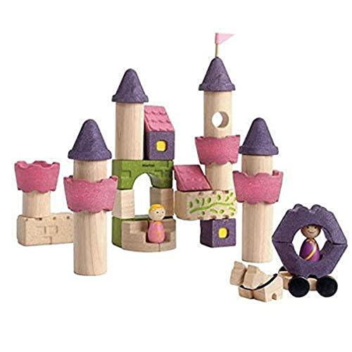 PlanToys- Fairy Tale Blocks, PT5650, Wood