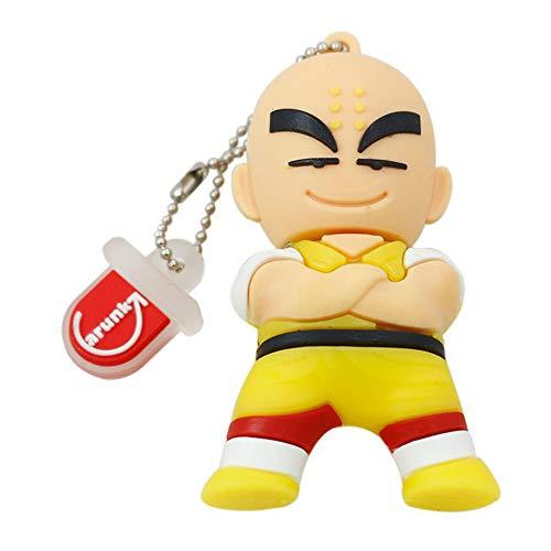 Memorias USB Pen Flash Drive Pulgar Unidad USB2.0 Alta Velocidad Dibujos Animados Anime Son Goku Memoria USB 4 A 64 GB Gel De Sílice Precioso U Disco (16GB,Kobayashi)