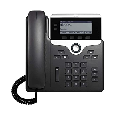 Cisco IP Phone 7821 FOR 3RD Party Call Control (Renewed) teléfono IP