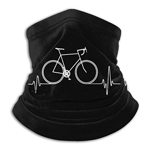 Bklzzjc Neck Gaiter Warmbeat Heartbeat Bycicle Neck Warmer Neck Gaiter Coupe-Vent Hommes Femmes Chapeaux Temps Froid Motocyclisme Pêche École de Travail