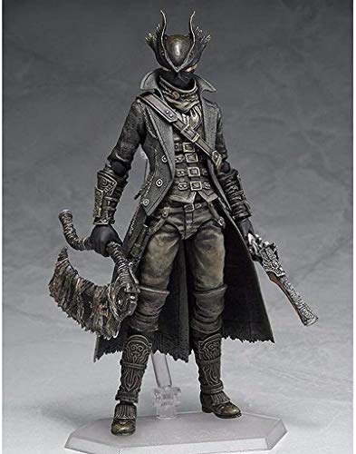 WZX Bloodborne: Hunter Figma Action Figure-Include Multiple Expressions-15 Cm Height