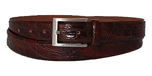 BOSS Ceinture homme leather dark brown 90cm
