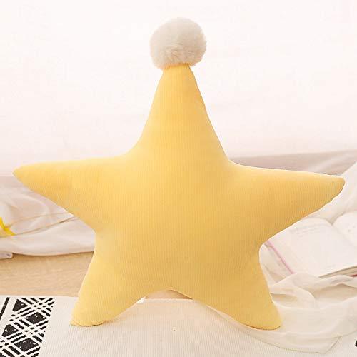 PBCX Estrella corazón Relleno en Forma de Almohada cojín Luna bebé niños Regalo niñas decoración de la habitación del bebé 45 CM