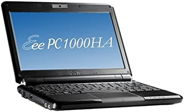 ASUS Eee PC 1000HA 10-Inch Netbook (1.6 GHz Intel ATOM N270 Processor, 1 GB RAM, 160 GB Hard Drive, 10 GB E-Storage, XP Home, 6 Cell Battery)