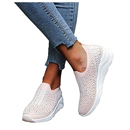 Flu Zapatillas Mujer Casual Deportivas Caminar para Mujer Slip on Calzado,Zapatos de...