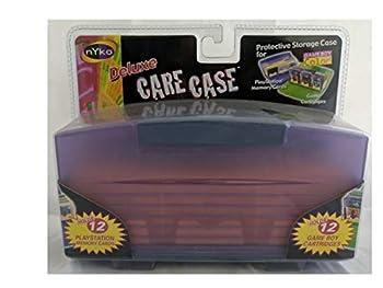 Nyko Deluxe Original Gameboy  Original Pocket Color  Game Cartridge Care Case  12 Games  - Pink/Magenta
